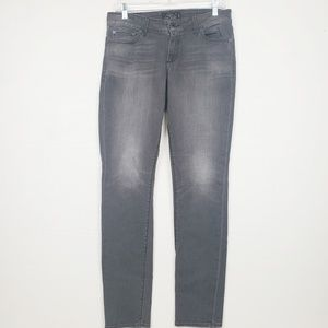 Lucky Brand Lotita Skinny jeans distressed gray